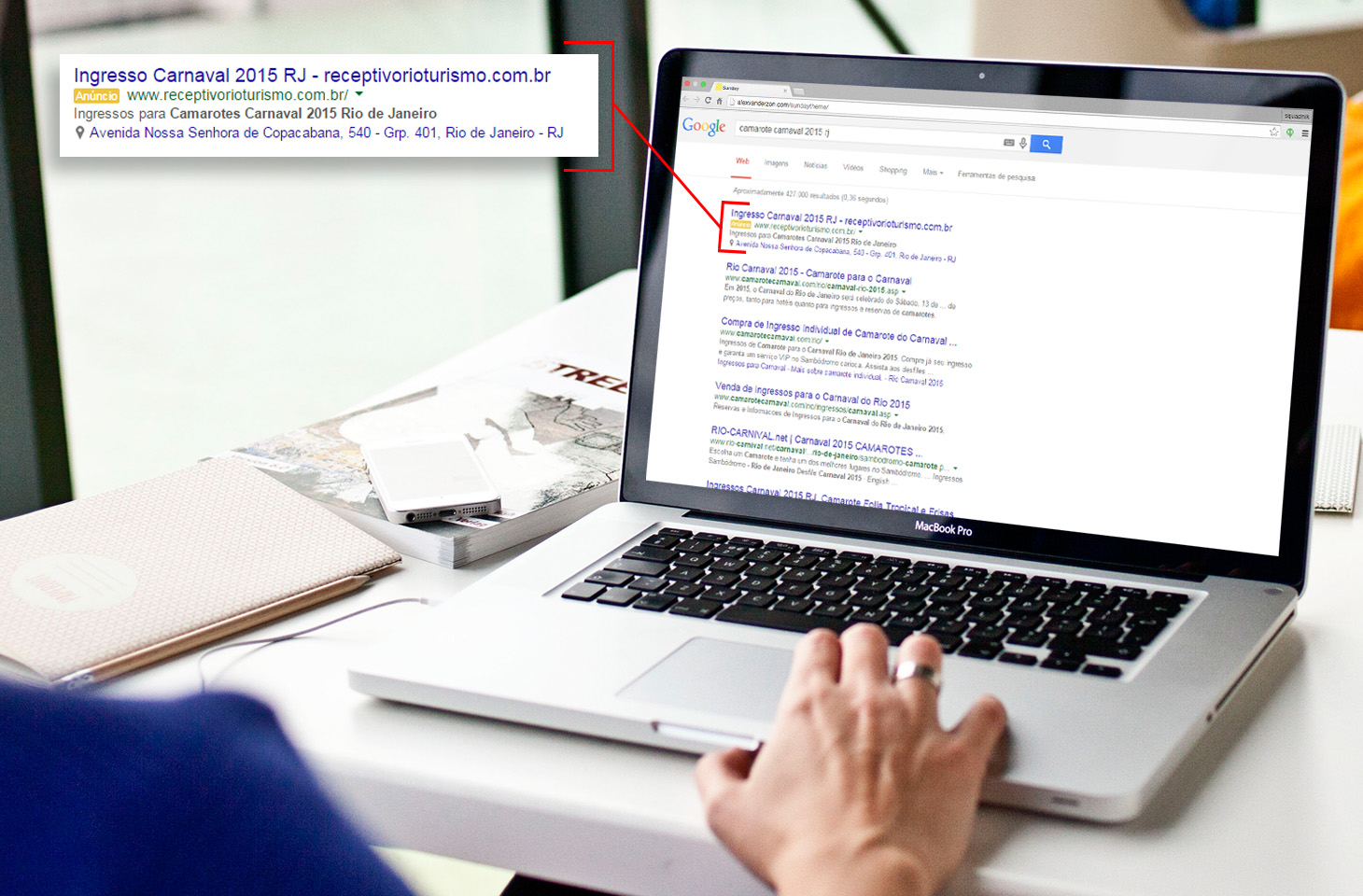 Conheça 5 vantagens dos links patrocinados